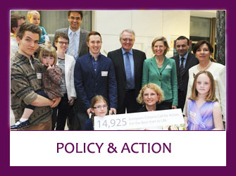 Photo of INHA fundraisers - Clicking on this image will take you to 'Policy & Action' section.